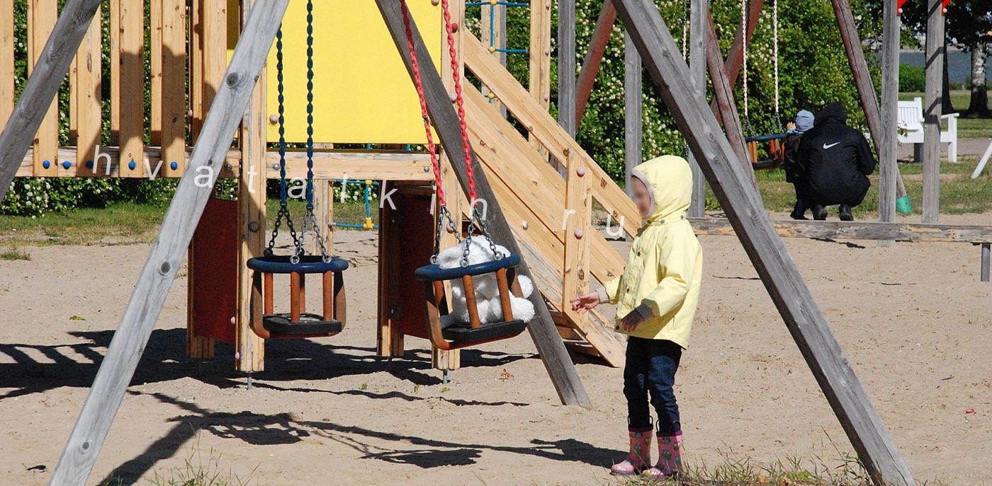 Как добиться установки детской площадке