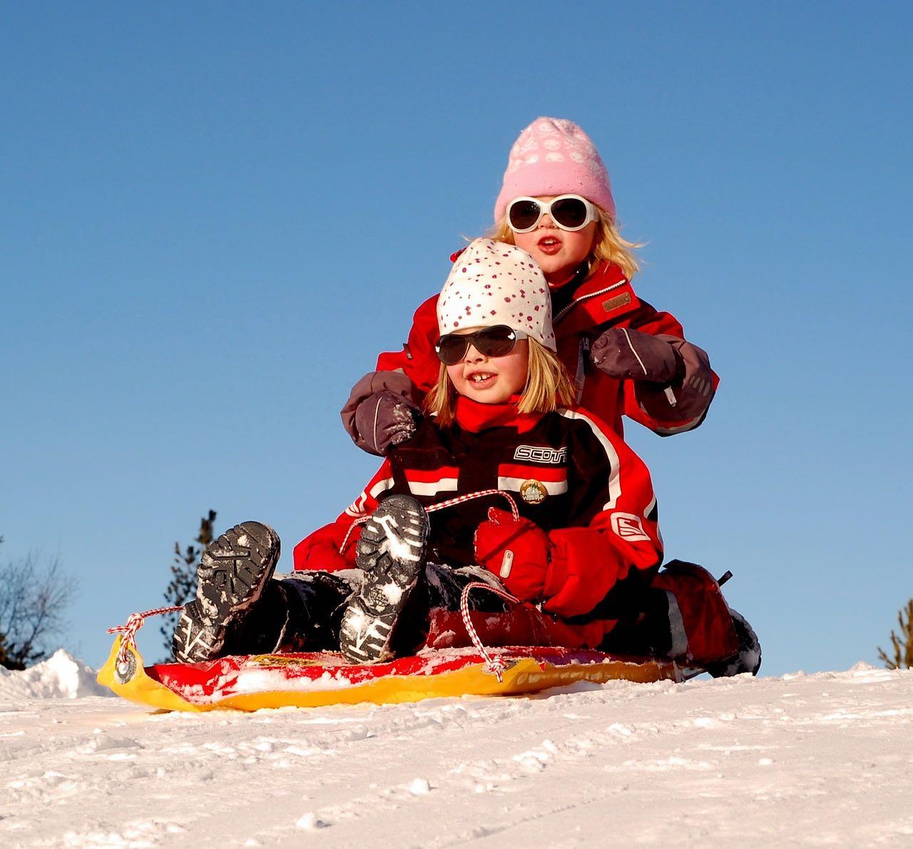 Занятия с ребенком зимой