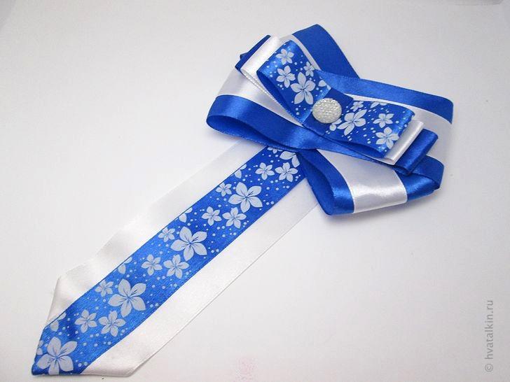 Белый галстук своими руками фото 745